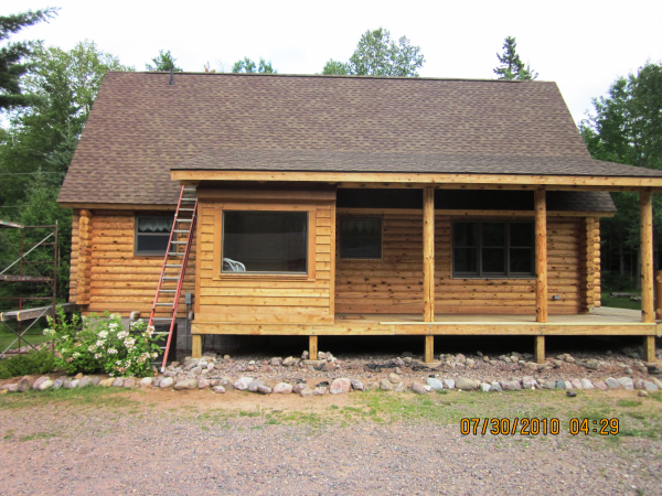 Each Of These Three Methods Require The Greatest Amount Of Time When  Restoring Your Log Home. Removing The Existing Finish Completely Is  Probably One Of The ...